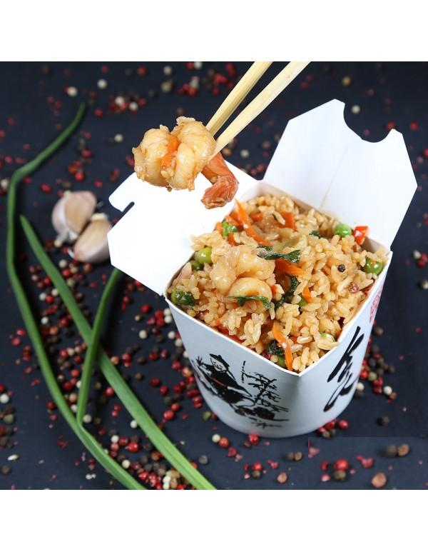 Рис с морепродуктами ( 320 гр.)