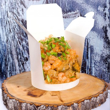 Тепаньяке рис с морепродуктами ( 380 гр.)