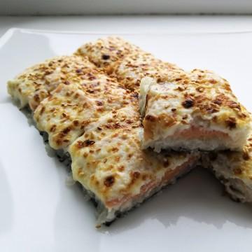 """Пицца - ролл """"С сёмгой"""" (360 гр.)"""